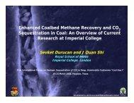Enhanced Coalbed Methane Recovery and CO ... - Coal-Seq