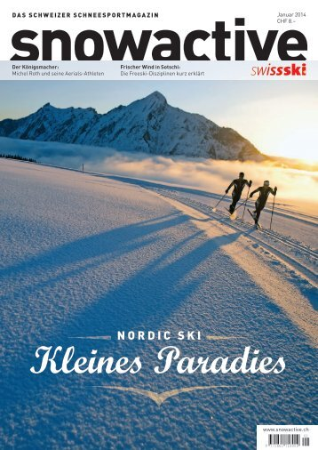 Ausgabe Januar 2014 > Download - Snow Active