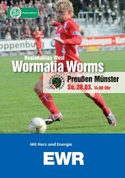 28.03.2010 Preußen Münster - Wormatia Worms