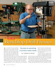 Tool Test: Benchtop Drill Presses - Wilton Tools