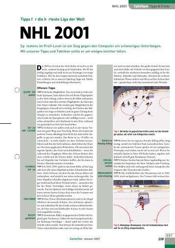 NHL 2001 - GameStar