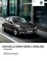 NOUVELLE BMW SÉRIE  BERLINE. - Bmw-serie3.com