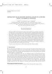 November 17, 2004 19:17 WSPC/130-JCA diffraction DIFFRACTION ...