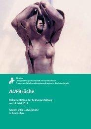 AUFBrüche - Landesarbeitsgemeinschaft der kommunalen Frauen