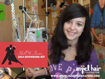 Download our Sponsors Info Kit - Angel Hair Foundation