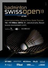 Internationales Grand Prix Gold Turnier 12.–17. März 2013, St ...