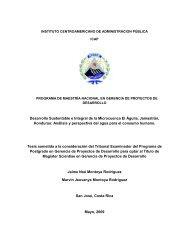 INSTITUTO CENTROAMERICANO DE ADMINISTRACION PÚBLICA