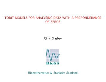 Tobit models for analysing data with a preponderance of zeros