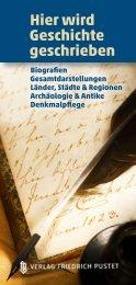 Hier wird Geschichte geschrieben - Pustet Verlag