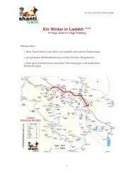 Ein Winter in Ladakh - Shanti Travel