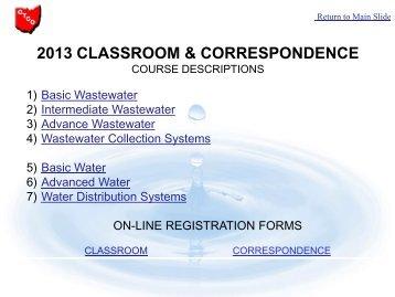 2013 classroom & correspondence - Ohiowater.org