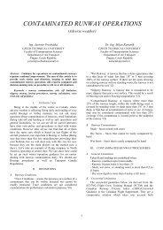 contaminated runway operations - Magazine of Aviation Development