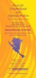 Praxis für Naturheilkunde und Ayurveda-Medizin - Eva-Maria Hauck