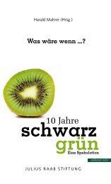 schwarz grün - Julius Raab Stiftung