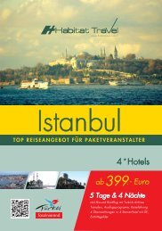 Istanbul Flyer - Habitat Travel