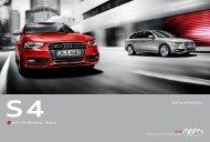 Audi S4 Berline / Avant - Groupe SAIP