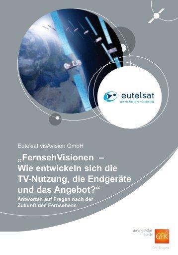 """""""FernsehVisionen – Wie entwickeln sich die TV ... - KabelKiosk"""