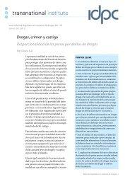 Serie reforma legislativa en materia de drogas No - Transnational ...