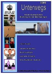 Gembrief_Herbst_2013.pdf - Evangelische Kirchengemeinde ...
