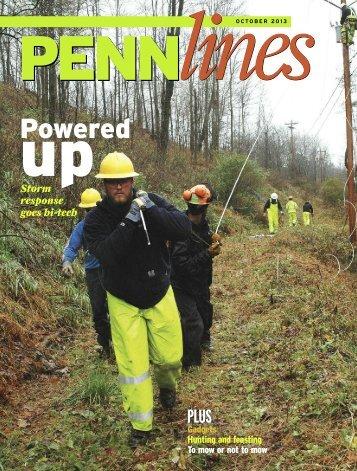 October 2013 - PREA - The Pennsylvania Rural Electric Association