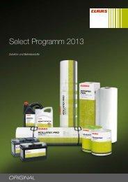 CLAAS Select - Wittrock-Landtechnik