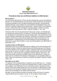 Sachinformation_Produktives Ueben mit Ziffernkarten - PIK AS