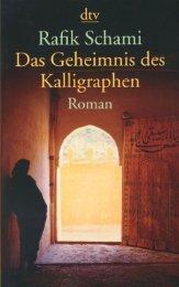 Schami, Rafik - Das Geheimnis des Kalligraphen.pdf