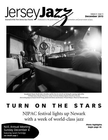 TURN ON THE STARS - New Jersey Jazz Society