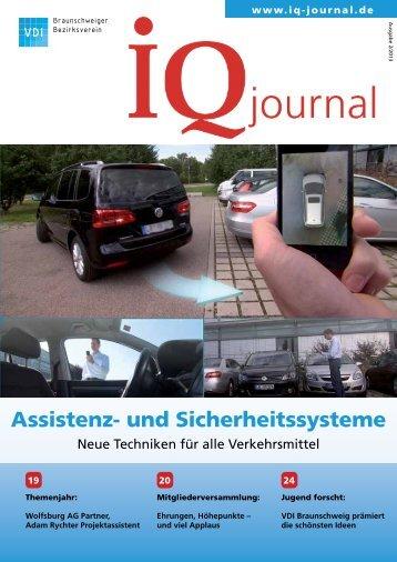 Assistenz- und Sicherheitssysteme - VDI Braunschweiger ...