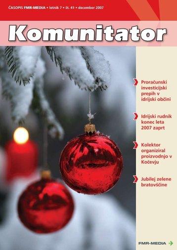 Proračunski investicijski prepih v idrijski občini Idrijski rudnik ... - FMR