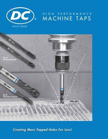 MACHINE TAPS - Machinery Canada