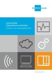 Produktübersicht Datenkommunikation als PDF ... - INSYS icom