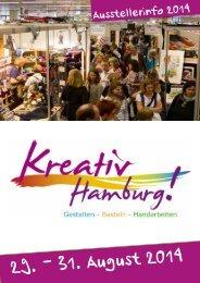 Ausstellerbroschüre 2014 - Kreativ Hamburg