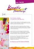 Ausstellerbroschüre 2014 - Kreativ Hamburg - Page 2