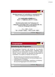 Abschlusspräsentation des Fachaustauschs zum Download - IJAB