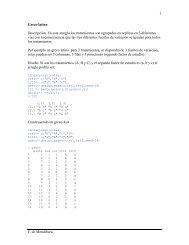 Planeamiento y análisis del diseño Greco latino