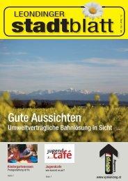 Stadtblatt 156.indd - ÖVP Leonding