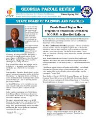 draft Spring 2013 final - State Board of Pardons and Paroles