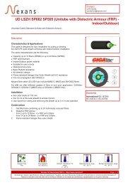 Download the PDF datasheet - Nexans