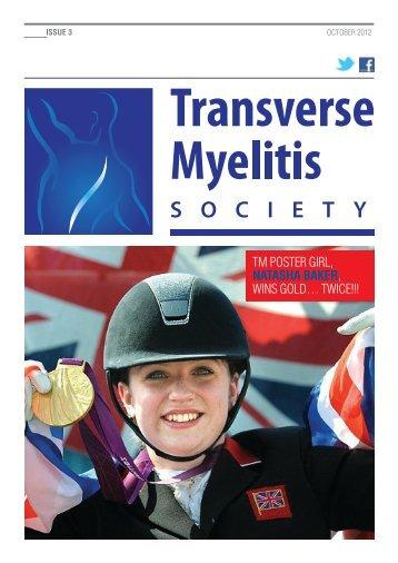Issue 3 - Transverse Myelitis Society