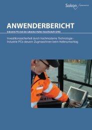 Der Einsatz von hochmoderner Technologie in den Terminal-PCs ...