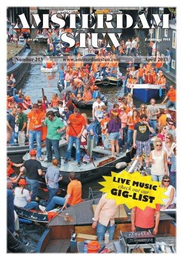 No. 213 - April 2013 (6.6MB) - The Amsterdam Stun