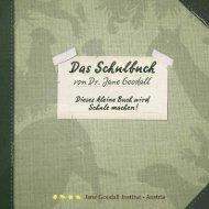 Schulbuch (PDF) - Jane Goodall Institut-Austria
