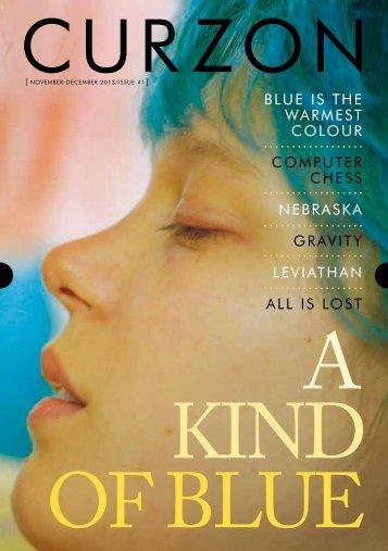 BLUE IS THE WARMEST COLOUR COMPUTER ... - Curzon Cinemas