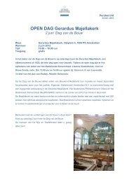 OPEN DAG Gerardus Majellakerk 2 juni 'Dag van de Bouw'