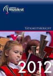 Download Tätigkeitsbericht - Landesmusikrat Niedersachsen eV