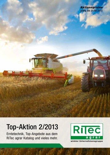 Top-Aktion 2/2013 - RiTec agrar