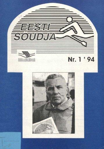 Nr. 1 ' 94 - Eesti Sõudeliit