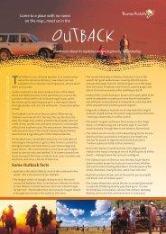 Outback Overview - Seasoned Traveler
