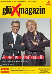 Jauch und Gottschalk - Lotto Baden-Württemberg